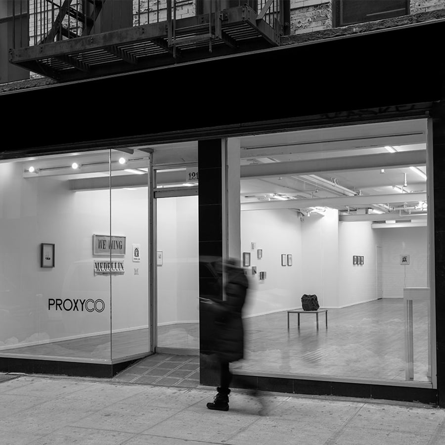 PROXYCO Gallery located on 168 Suffolk St. New York, NY 10002